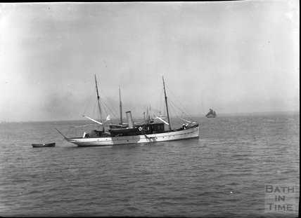 Unidentified steam boat, c.1900s