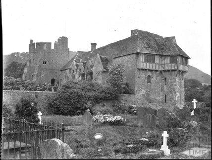 Stokesay Castle, Shropshire, c.1900s
