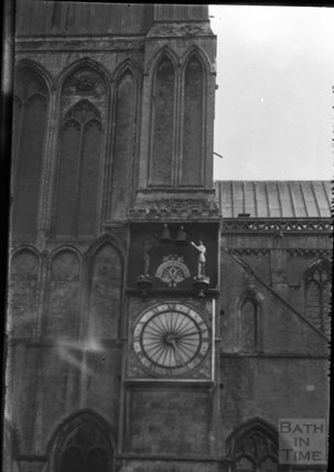 Wells Cathedral clock, c.1920s