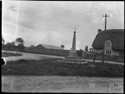 Village cross, South Cerney, Gloucestershire, c.1900s
