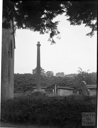 Whittington churchyard cross, c.1900s