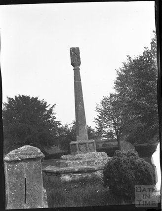 Spaxton, Churchyard cross, c.1900s