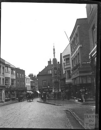 City cross, Winchester, c.1900s