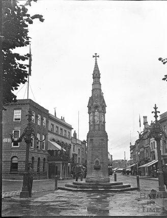Market cross, Taunton, c.1900s