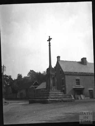 Unidentified village cross, c.1900s