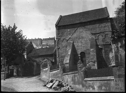 Saxon Church of St Laurence, Bradford-on-Avon, c.1900s