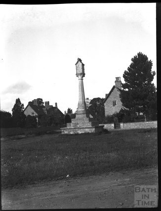 Village Cross, Down Ampney, Gloucestershire, c.1900s