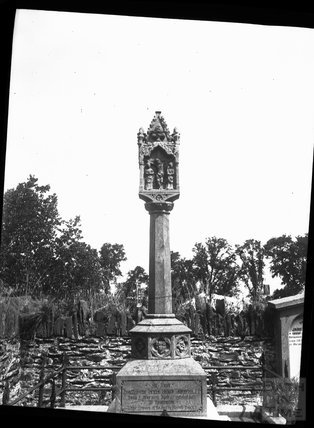 Grave in Launceston churchyard, c.1900s
