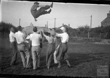 Birthday bumps?, c.1930s