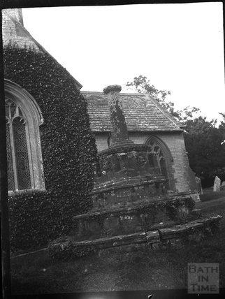 Churchyard Cross, Charlton Mackrell, c.1900s