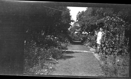 Unidentified garden or path, c.1950s