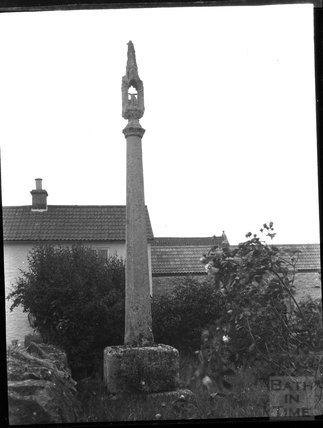 Market cross, Wedmore, c.1900s