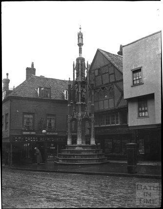City Cross, Winchester, c.1900s