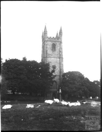Church of St Stephen-by-Launceston, Cornwall, c.1900s