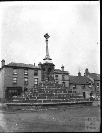 Lydney market cross, Gloucestershire, c.1900s