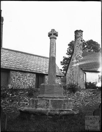 Churchyard Cross, Porlock, c.1900s