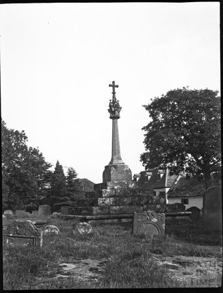 Churchyard cross, All Saints, Newland, Glos., c.1900s