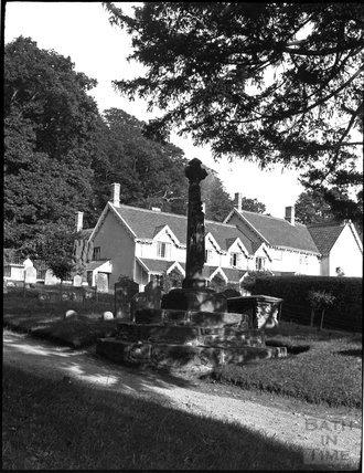 Churchyard Cross, Crowcombe, c.1900s