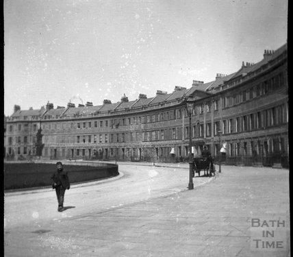 Lansdown Crescent, circa 1900