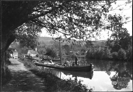 Saltford Lock on the River Avon, c.1900s