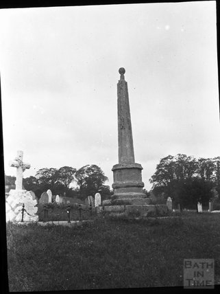Churchyard cross in unknown location, c.1900s