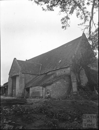 Tithe Barn, Englishcombe c.1900