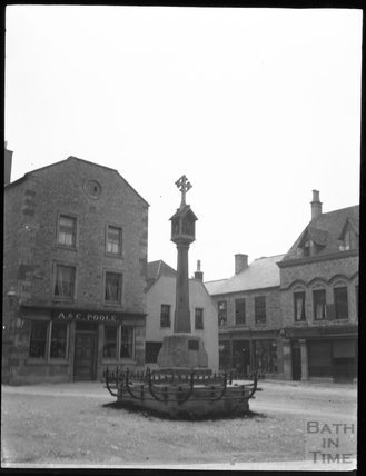 Market Cross, Stow-on-the-Wold, circa 1900s