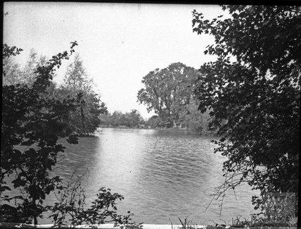 Unknown lake scene, c.1900s