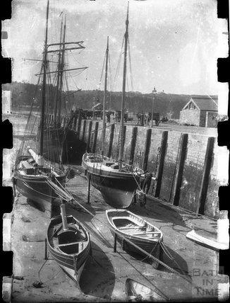 Tenby harbour, c.1900s
