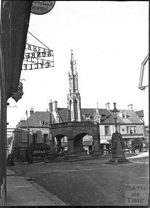 Market Cross, Shepton Mallet, circa 1900