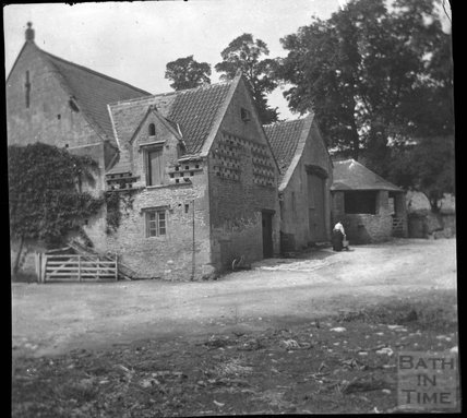 Manor farm barn and dovecote, Southstoke, c.1900s