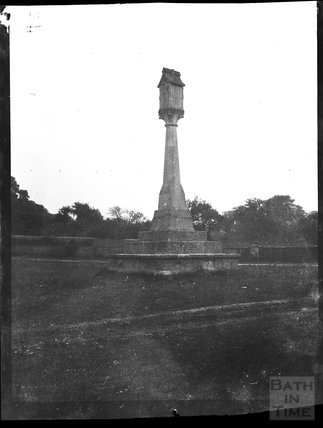 Village or churchyard cross in unknown location c.1900s