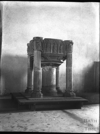 Font, St Merryn, Padstow, Cornwall c.1900s