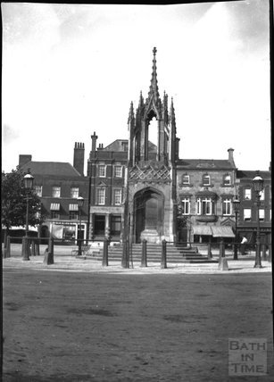 Market Cross and Market Place, Devizes, c.1900s