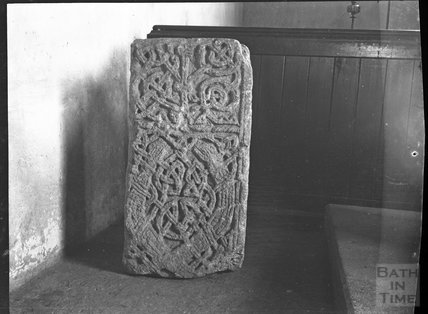 Base of Celtic stone cross, West Camel, Somerset c. 1900s