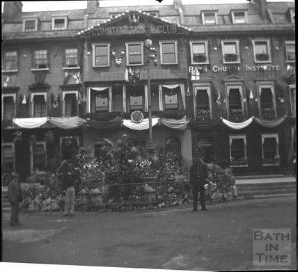 Edgar Buildings, George Street, Bath, 1897