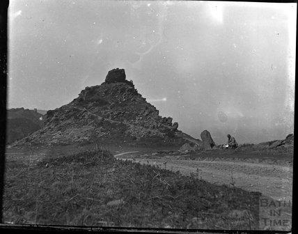 Coastline at the Valley of the Rocks, North Devon c.1900s