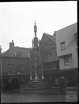 City Cross, Winchester c.1900
