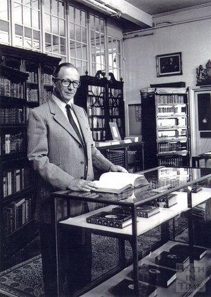 Hylton Bayntun-Coward, at George Bayntun's in Manvers Street