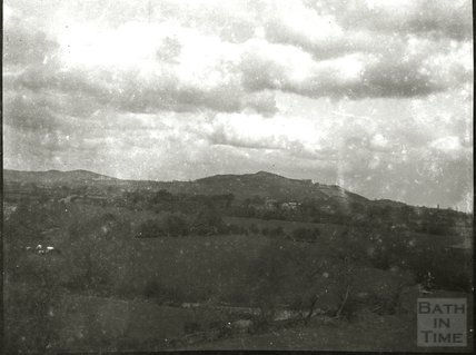 Countryside view in unidentified location, c.1900s