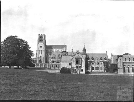 Downside Abbey, Stratton on the Fosse, c.1900s
