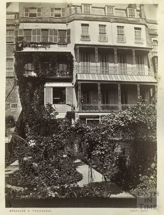 Rear of 13 Grosvenor Place, Bath, c.1900