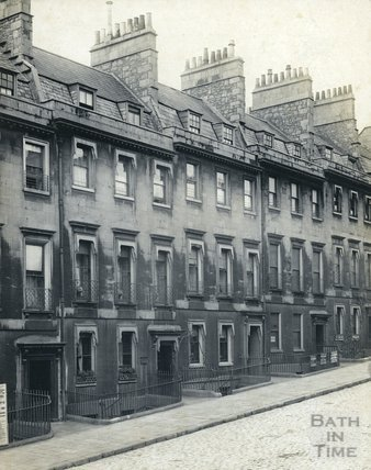 Bennett Street, No.'s 18-21 Bennet Street, Including Admiral Philips House, c.1900