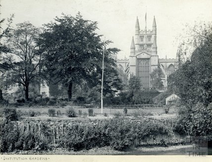 Parade (Institution) Gardens, Bath, c.1900