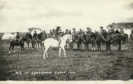 North Somerset Yeomanry Lansdown Camp, 1905