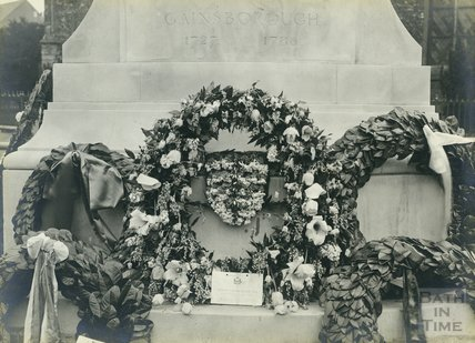 Gainsborough Memorial, Sudbury 1727-1780, in 1927