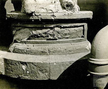 Base of the Statue of King Edward III, c.1950s