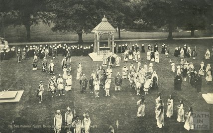 Bath Historical Pageant, July 1909 Episode 3: Coronation of King Edgar, AD 973