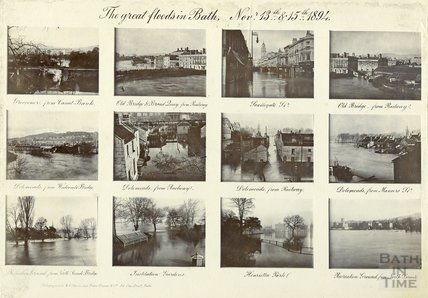 The Great Floods in Bath, November 13th-15th 1894