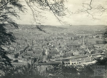 View from Beechen Cliff, 1897-98